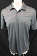 ADIDAS GOLF pure motion Cool Max ASPEN GLEN Rugby Polo Casual SHIRT M