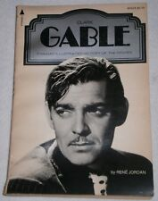 CLARK GABLE by RENE JORDAN ~ Pyramid Illustrated History of the Movies PAPERBACK
