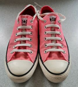 Converse Ladies Chuck Taylor All Star Pink Sneakers Size 6