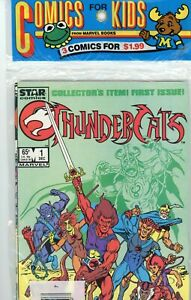 Thundercats 1,2,3 Comics for Kids 1985 Sealed Pack VF/NM FIRST PRINT .65 Cover