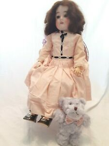"""Antique Queen Louise Germany 24"""" Doll - Composition Body with #30 Bisque Head"""