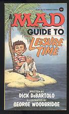 Mad Guide To Leisure Time (1976) #5 PB 1st Print Warner 76-715 DeBartolo VF