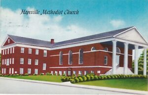 Hapeville, GA - Hapeville Methodist Church - Exterior and Grounds - 1961
