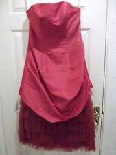 Size 10 Pink Taffeta Evening/Cocktail/Prom Dress - NEW WITH TAGS
