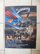 Poster Cinema Superman II 38 Sur 20 1/2in