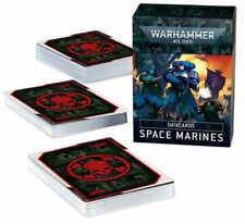 WARHAMMER DATACARDS: SPACE MARINES (ENGLISH) - NEW/BOX