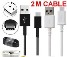 2m Meter USB-C For Samsung S9Plus S8 NOTE8 Type C Data Sync Charger Charging Cab