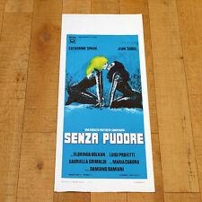 SENZA PUDORE-UNA RAGAZZA PIUTTOSTO COMPLICATA locandina poster Spaak U56