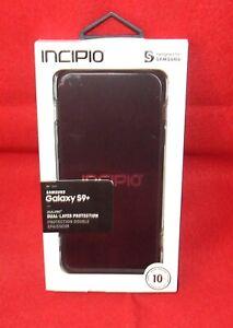 Incipio DUALPRO Dual-Layer Protection Phone Case - Samsung Galaxy S9 Black NEW