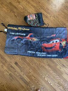 Exxel ~ Disney Pixar Cars ~ Kids Sleeping Bag ~ Ages 4+