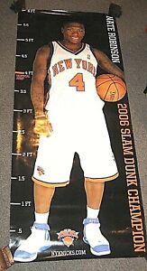 "NATE ROBINSON NEW YORK KNICKS 2006 SLAM DUNK CHAMPION 72"" TALL X 30"" WIDE POSTER"