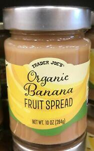 Trader Joe's Organic Banana Fruit Spread 10oz. (284g)🔥 Limited Seasonal Edition