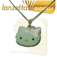 HELLO KITTY BY SANRIO TESTINA ROSA CON COLLANA AG 925
