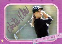 LPGA Golf Pro Cristie Kerr Autograph Hand Signed Card