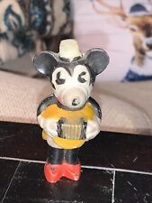 New ListingVintage Disney Minnie Mouse Accordion Bisque Porcelain Made In Japan
