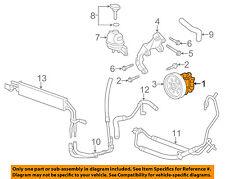 Cadillac GM OEM 08-14 CTS-Power Steering Pump 25914590