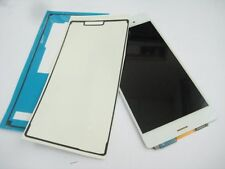 White LCD display +Touch screen + Glue For Sony Z3 L55T D6653 D6633 D6603