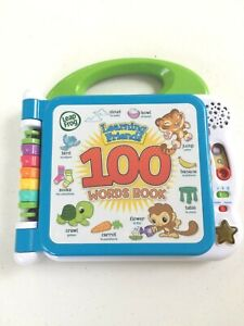 Leap Frog Learning Friends 100 Words Electronic Book - Pre Owned