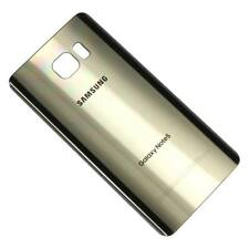 Samsung Galaxy Note 5 Rear Back Battery Cover Door with Adhesive - Gold