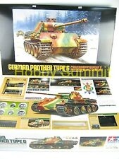 56022  Tamiya 1/16 R/C PANTHER TYPE G  Tank  Full-Option German WWII  Model  Kit