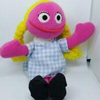Sesame Street Betty Lou Plush Doll Bean Bag Tyco 1997