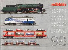 Marklin Export Models 98 catalogue