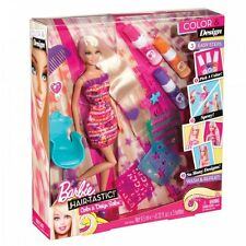 BARBIE HAIRTASTIC colori e design salone DOLL