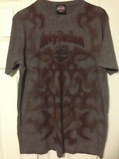 Harley Davidson T Shirt Women's Large Flames