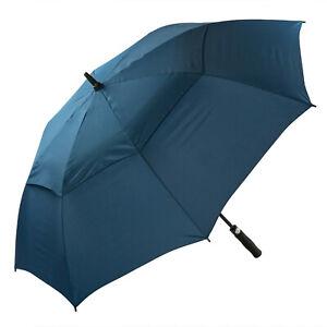 Large Golf Umbrella Automatic Windproof Double Vented Stormproof Umbrella
