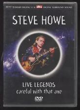 DVD STEVE HOWE LIVE LEGENDS Cuidado Con That Axe rock progresiva GUITARRISTA