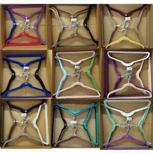"""AS IS ""Joy Mangano Huggable Hangers 40-Piece Multi Combo Pack Chrome"