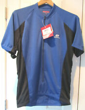 NEW Bellwether Technical Men's Large MN Pro Mesh Jersey Blue & Black 96183734