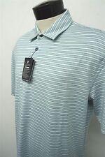 NEW! OXFORD GOLF RIVER CREST blue dry polo shirt sz L mens S/S#5628 c108