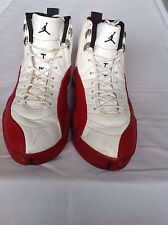 MICHAEL JORDAN 1997 Basketball FLU Shoes Size 15 Authentic Nike Red/White