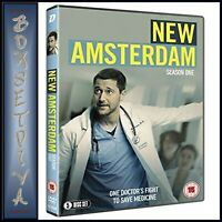 NEW AMSTERDAM COMPLETE SEASON 1 - FIRST SEASON *BRAND NEW DVD **