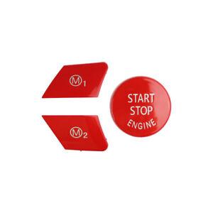 Car Steering Wheel M1 M2 Switch Button for BMW M3 F80 M4 F82 F83  M5 F10 M6 Cap