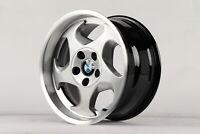 BMW E34 M5 8J 9Jx17 poliert Felgen E28 E32 E36 E46 wheels Styling-21 Schaufelrad