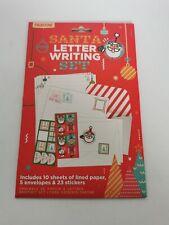Santa Letter Writing Set - New & Sealed