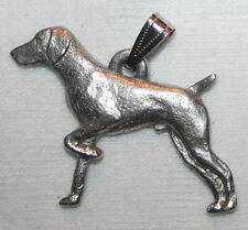 German Shorthair Pointer Dog Harris Fine Pewter Pendant Jewelry USA Made