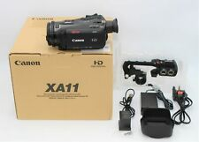 Used - Canon XA11 Compact Full HD Camcorder. With Warranty - Next Day Delivery