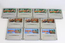Lot 10 Donkey Kong Country 1 2 3 Super Famicom SFC SNES Japan Import #21