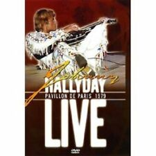 "DVD ""JOHNNY HALLYDAY - LIVE  PAVILLON DE PARIS 1979 "" NEUF SOUS BLISTER"