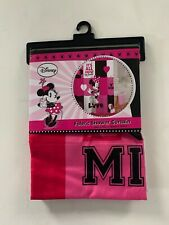 Disney IT'S ALL ABOUT MINNIE LOVE Mouse Shower Fabric Curtain 72X72
