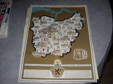 ancienne carte de flandre orientale