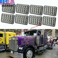 8X LED Headlights Sealed Beam Headlamps For FREIGHTLINER FLD 120 112 FLD 8PCS AA