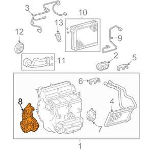 For Toyota Genuine HVAC Heater Blend Door Actuator Left 871060C140