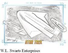 Star Trek TOS Portfolio Prints SketchaFEX The Way To Eden Dan Day RARE VARIANT!