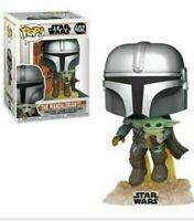 Funko Pop Star Wars The Mandalorian Flying with Child! Vinyl Figure NOV PREORDER