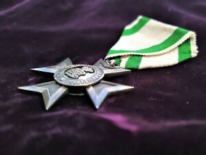 Sachsen Verdienstorden Verdienstkreuz 1.Modell Top am alten Band
