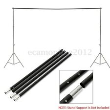 9.8Ft/3m Adjustable Background Crossbar For Photo Studio Backdrop Support Stand